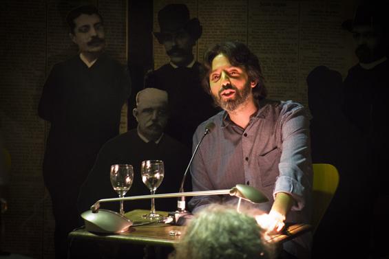 Lectura poética de Andrés Neuman