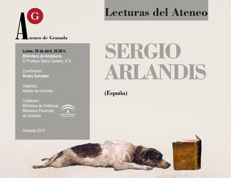 Lectura poética de Sergio Arlandís