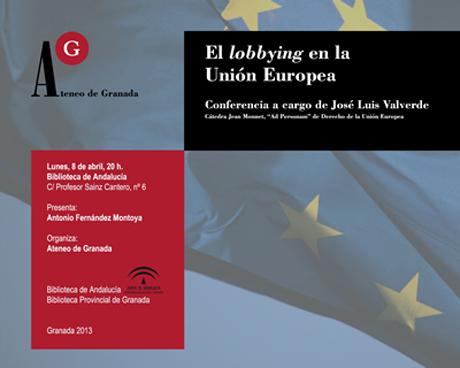 El lobbying en la Unión Europea