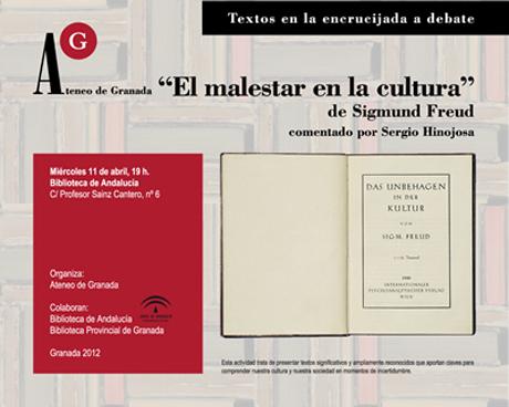 El malestar en la cultura, de Sigmun Freud