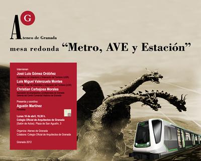 Mesa redonda: Metro, AVE y Estación