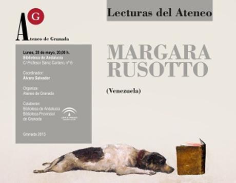 Lectura poética de Márgara Russotto