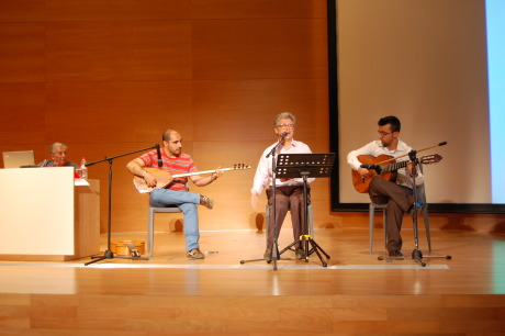 Cantaores sesión dedicada a J.R.J.