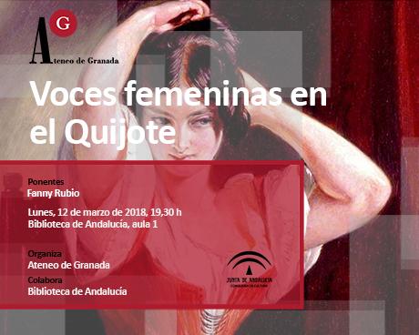 Voces femeninas en El Quijote