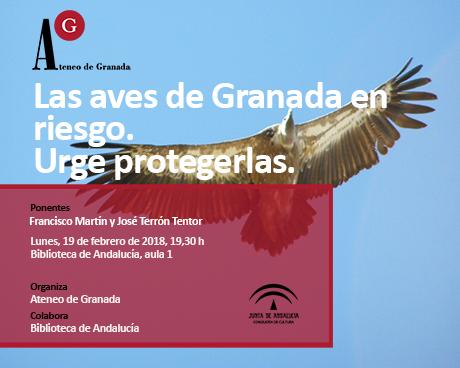 Las aves de Granada en riesgo. Urge protegerlas.