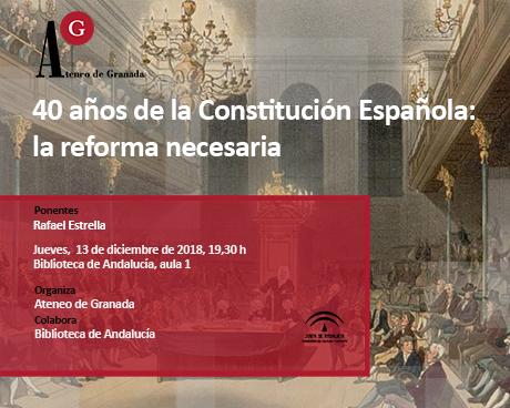 40 años de la Constitución Española: la reforma necesaria