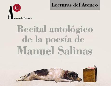 Lectura de poemas de Manuel Salinas