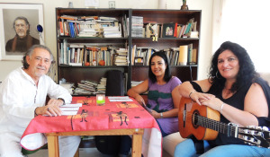 Pedro Enriquez, Habiba Chaouf y Pilar Alonso