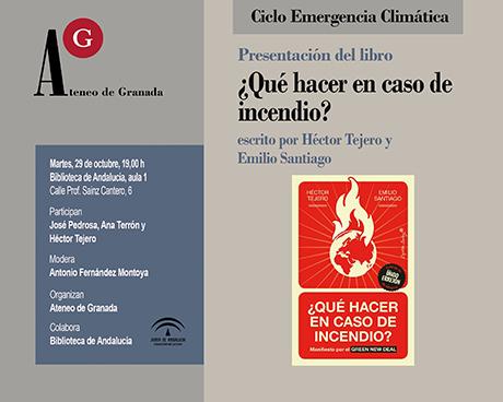 Presentación del libro: ¿Qué hacer en caso de incendio?