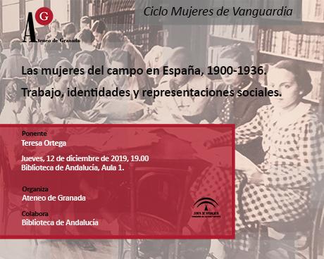 Las mujeres del campo en España, 1900-1936. Trabajo, identidades y representaciones sociales