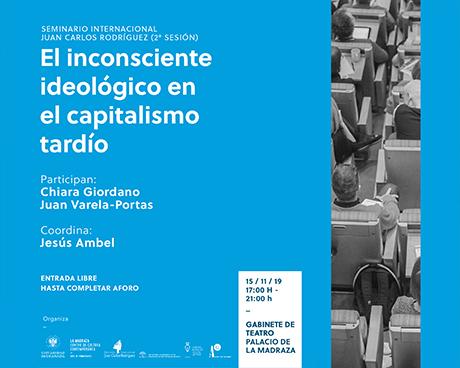 Seminario Internacional Juan Carlos Rodríguez. Segunda sesión