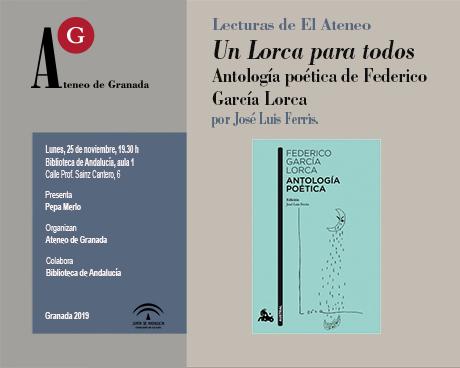Un Lorca para todos. Antología poética de Federico García Lorca, por José Luís Ferris