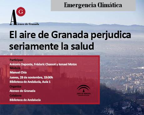 El aire de Granada perjudica seriamente su salud