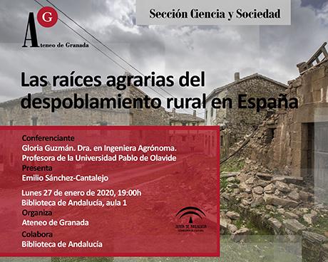 Las raíces agrarias del despoblamiento rural en España