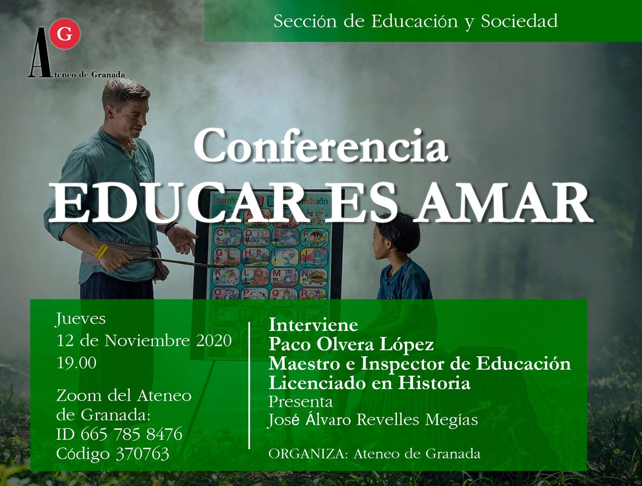 Conferencia: Educar es Amar