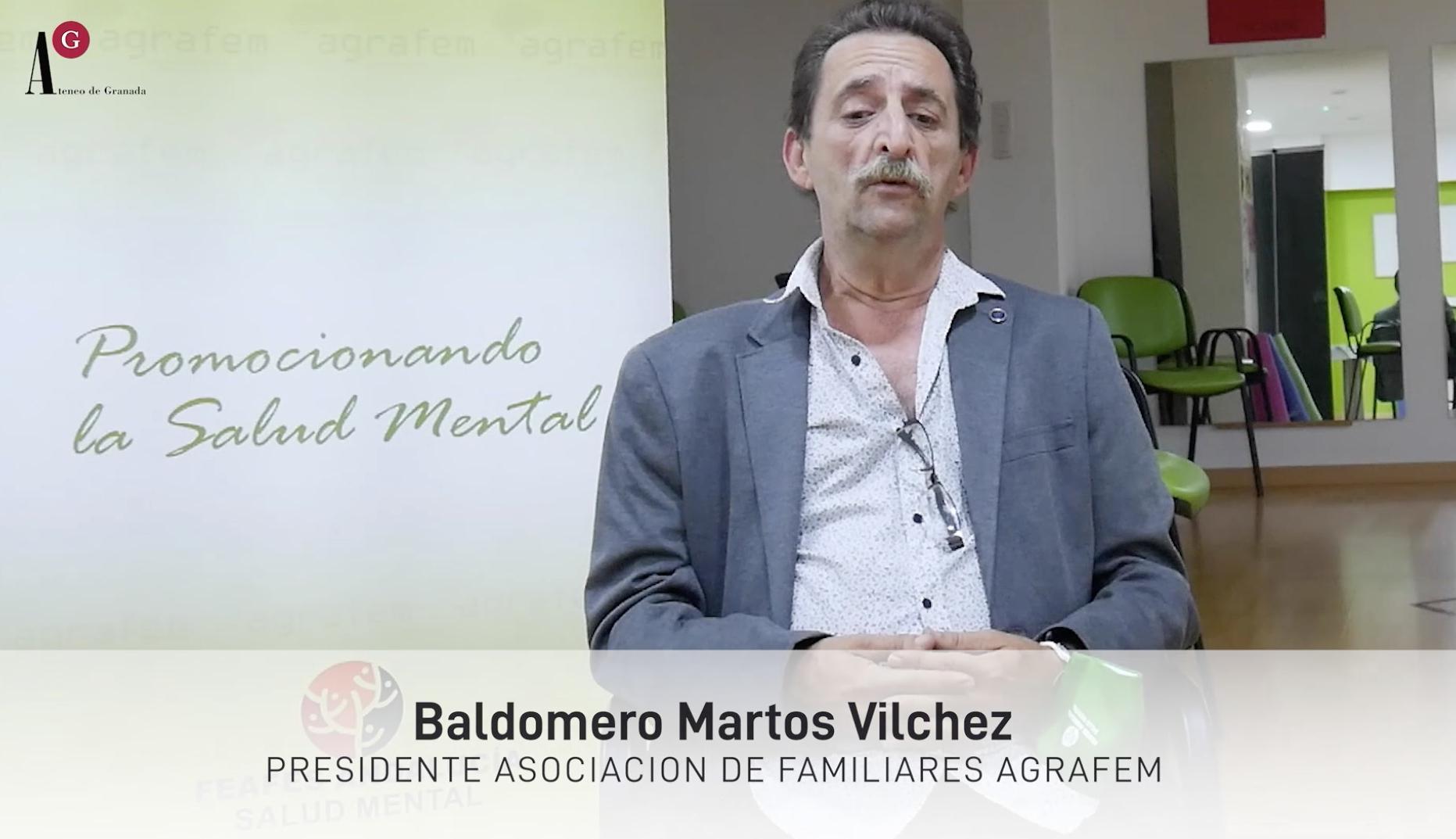 Entrevista a Baldomero Martos, presidente de Agrafem