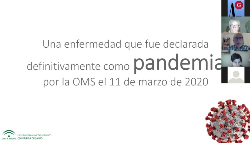 Conferencia Ateneo de Granada: Preguntas sin responder en la pandemia