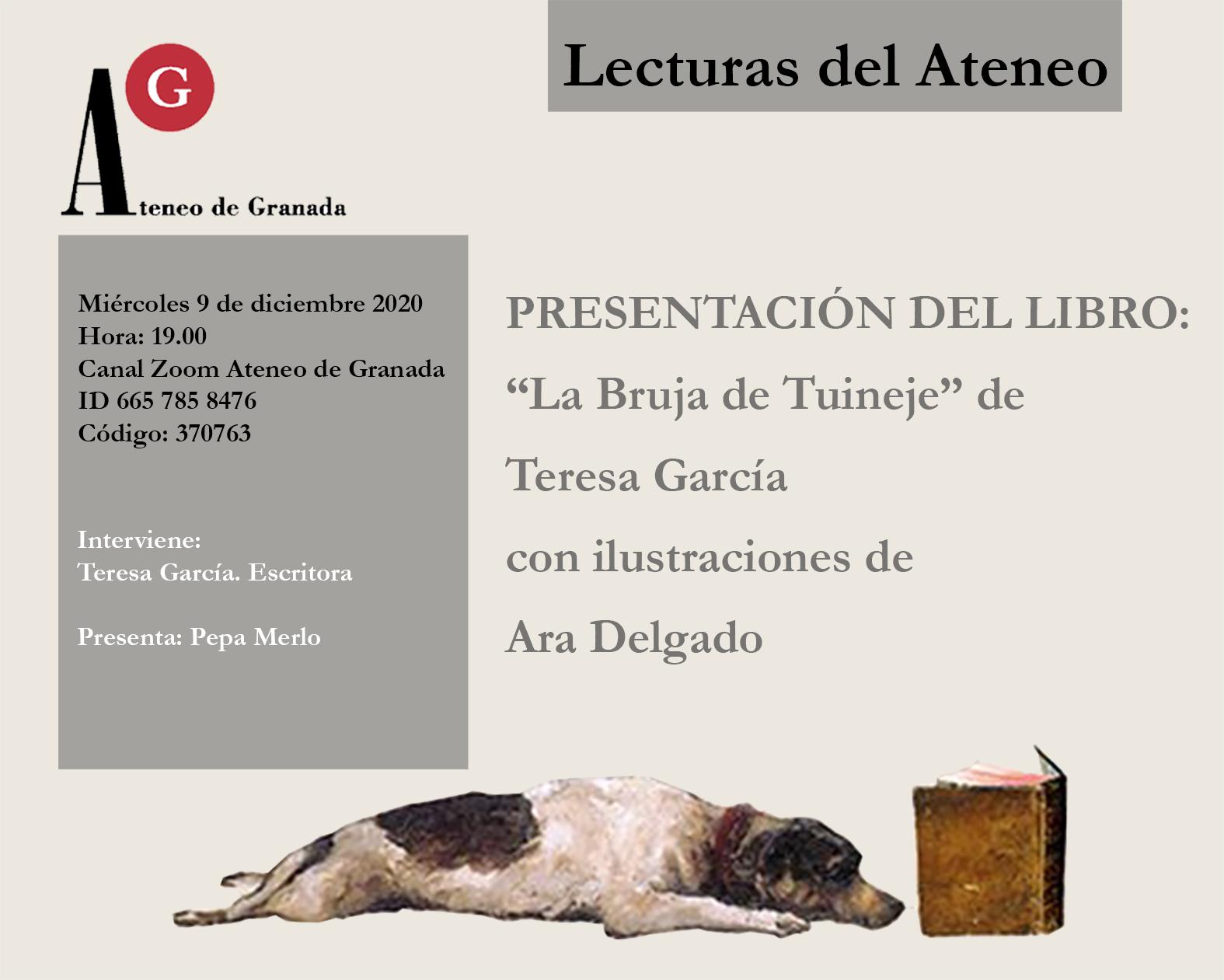 Presentación del libro: «La Bruja de Tuineje» de Teresa García ilustrado por Ara Delgado