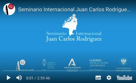 Seminario Internacional Juan Carlos Rodríguez