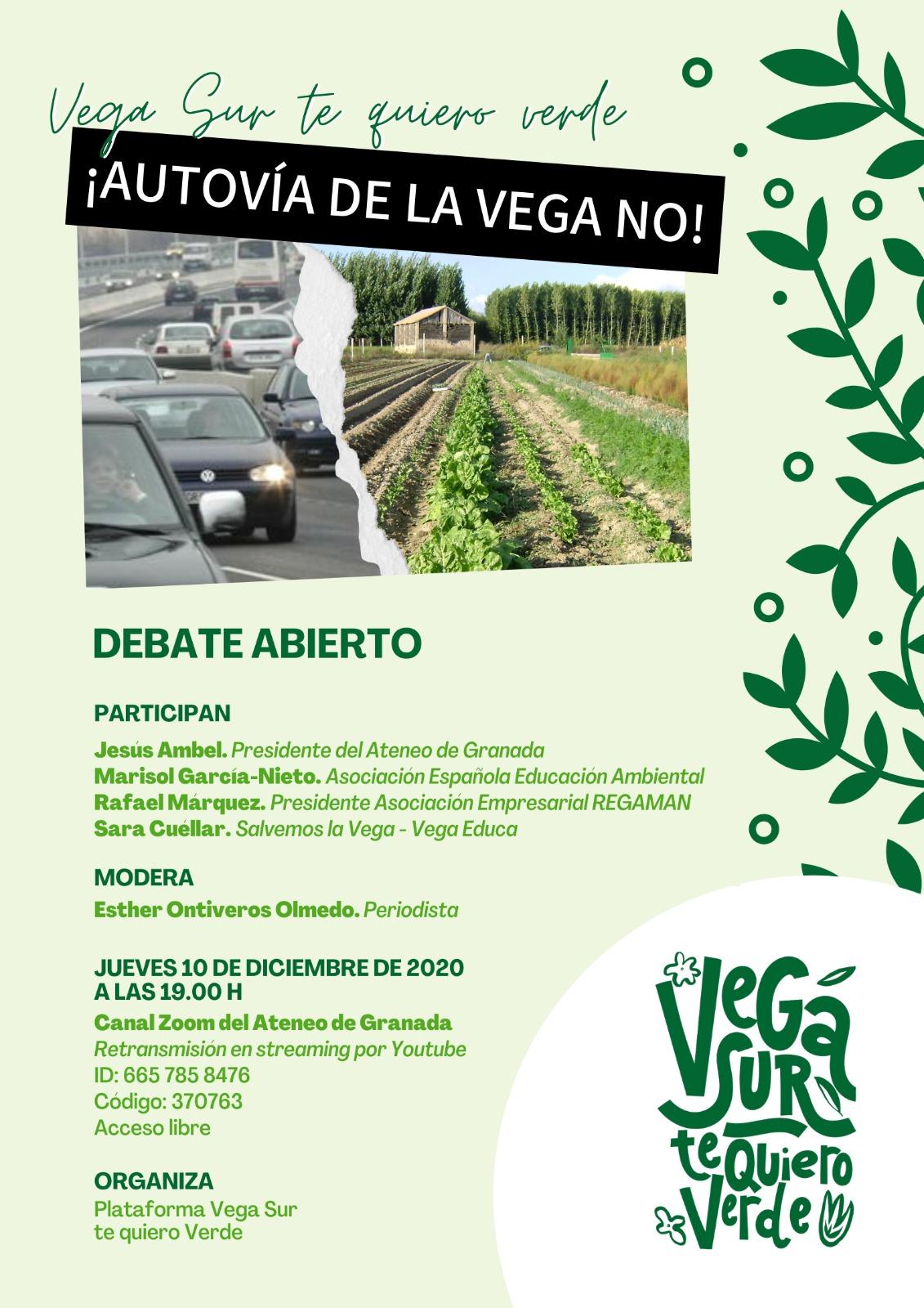 Debate Autovía de la Vega NO