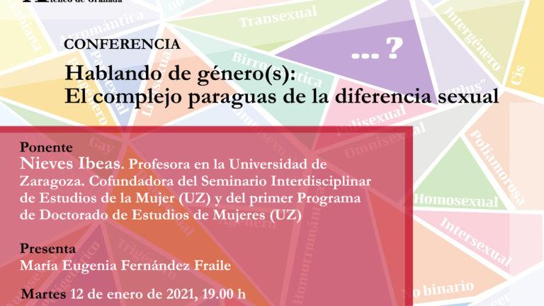 Conferencia Ateneo de Granada | Hablando de género(s): El complejo paraguas de la diferencia sexual
