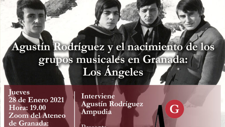 Conferencia | Agustín Rodríguez y el nacimiento de los grupos musicales en Granada: Los Ángeles