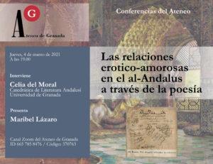 Conferencia El Ateneo |  Las relaciones erotico-amorosas en el al-Andalus a través de la poesía