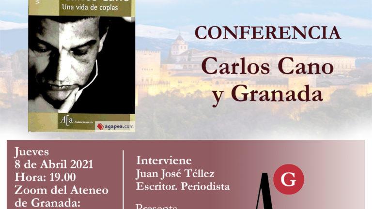 Conferencia El Ateneo | Carlos Cano y Granada