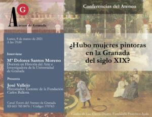 Conferencia El Ateneo | ¿Hubo mujeres pintoras en la Granada del siglo XIX?
