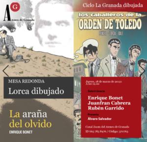 Ciclo La Granada dibujada | Mesa Redonda. Lorca dibujado