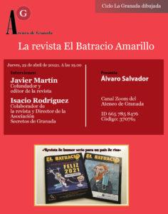 Conferencia El Ateneo | La revista El Batracio Amarillo
