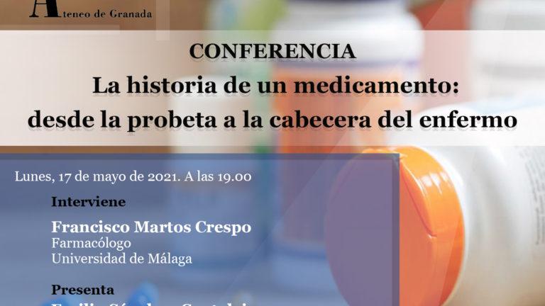 Conferencia El Ateneo | La historia de un medicamento: desde la probeta a la cabecera del enfermo