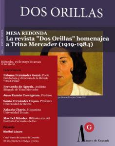"""Mesa Redonda: La revista """"Dos Orillas"""" homenajea a Trina Mercader (1919-1984)"""