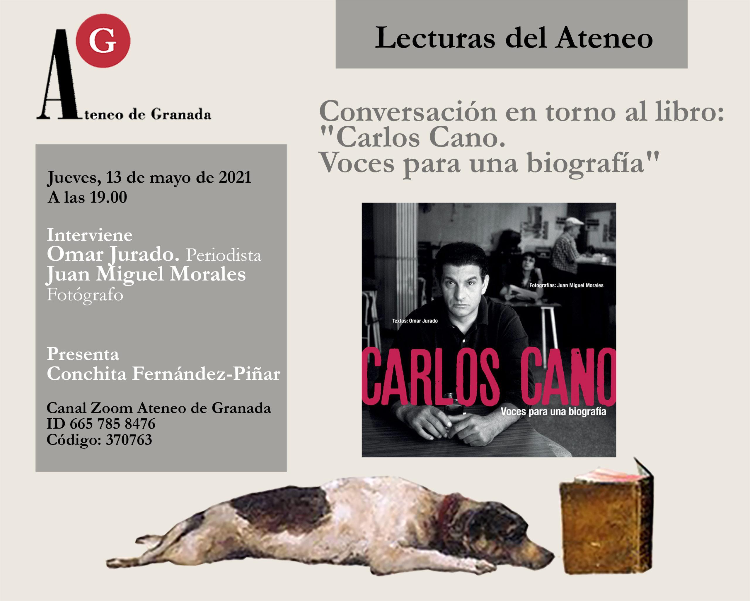 Conversación en torno al libro: «Carlos Cano. Voces para una biografía»
