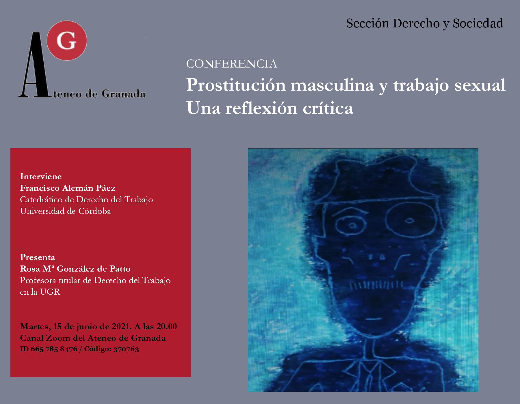 CONFERENCIA | Prostitución masculina y trabajo sexual. Una reflexión crítica